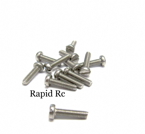 M3 x 12mm Stainless Steel Phillips Head Machine Screw